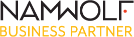 NAMWOLF Business Partner Badge