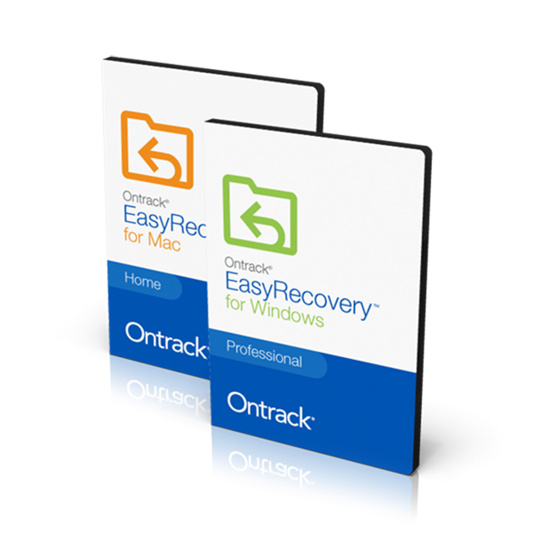 Ontrack EasyRecovery for Custom build JIT recovery