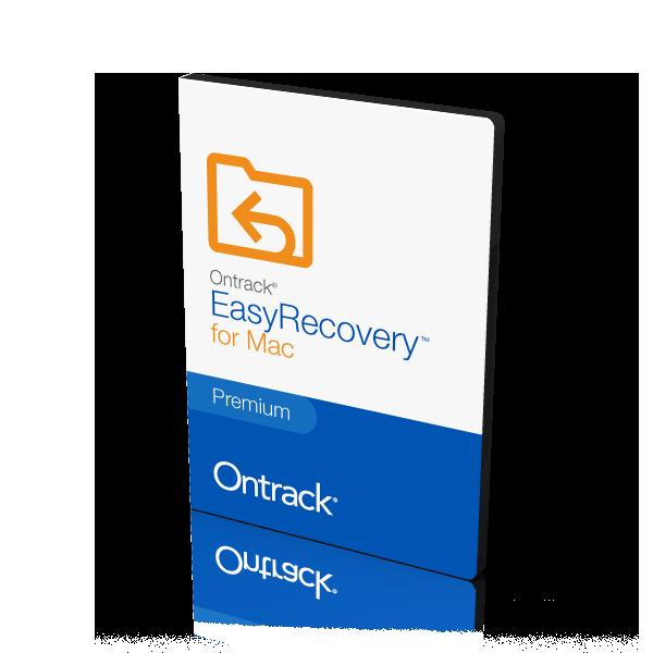 Ontrack EasyRecovery voor apple / mac / iOS bestanden terughalen