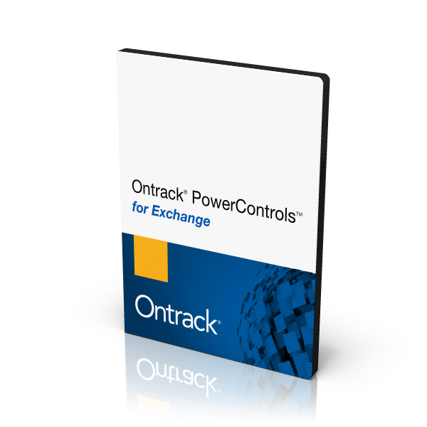 Ontrack PowerControls pour Exchange